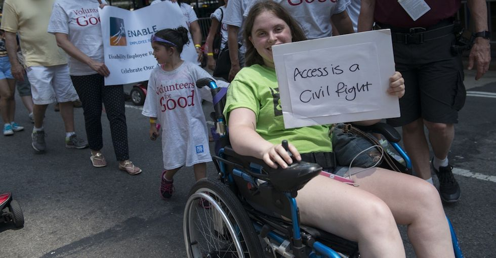 If Trump reverses this one law, disabled Americans will lose their civil rights.