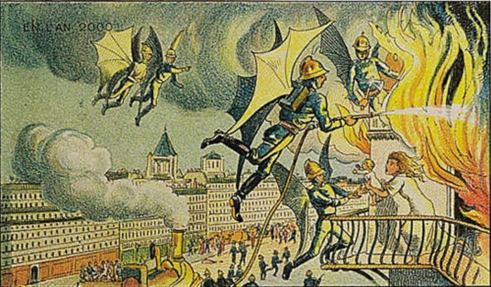 What Happens When An Artist From 1910 Tries To Predict The Future?