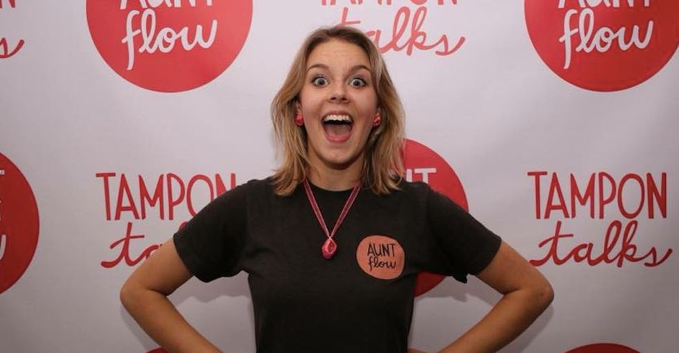 This 21-year-old superhero has an amazing idea to help save people who get periods.