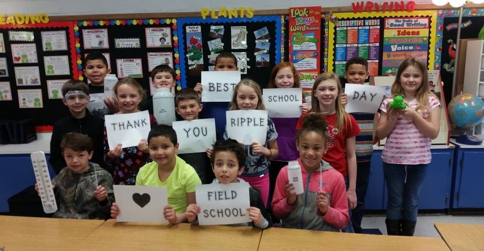 Teachers and kids around the country are celebrating this $29 million act of generosity.