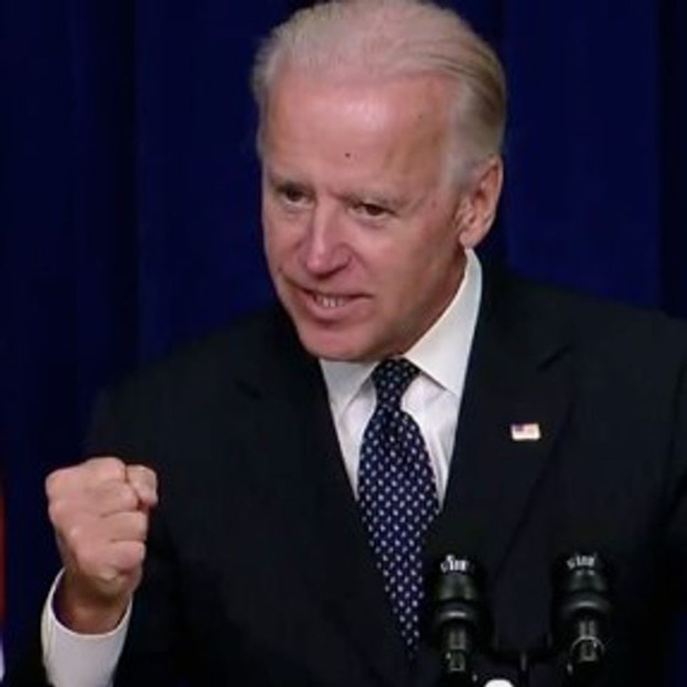 Joe Biden Is Opposed To Violence Against Women. If Only The Senate Were, Too.