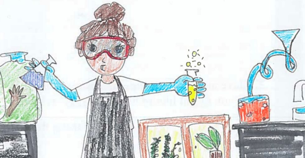 He looked at 50 years of kids' drawings of scientists. What he found? Fascinating.