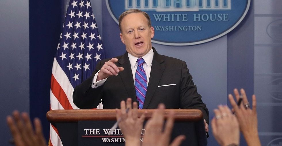 Sean Spicer's most recent comments on the Holocaust are alarming for 2 reasons.