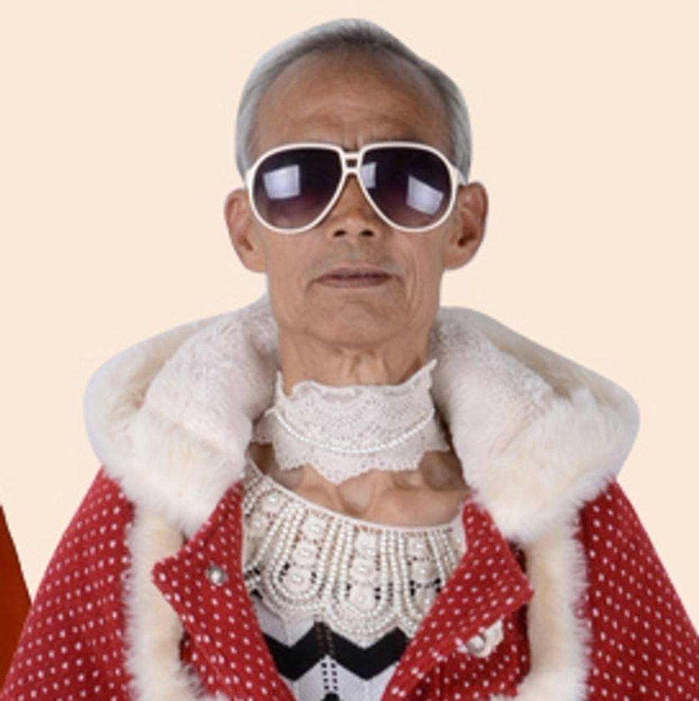 Why China's Next Top Model Might Be A Grandpa