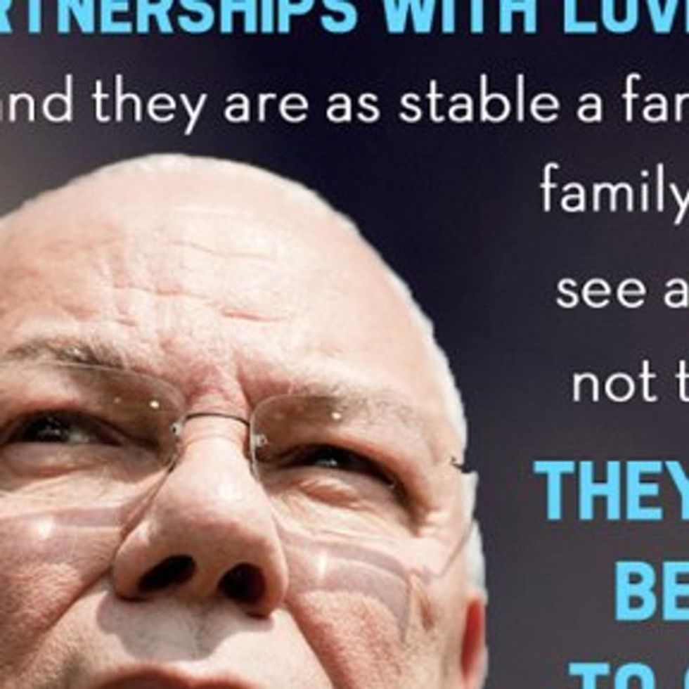 Colin Powell's Quote About Gay Marriage Is Chock-Full Of Common Sense And Decency