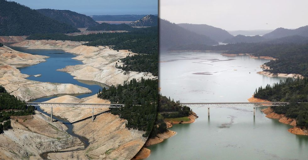 A camera captured just how different California looked during and after its drought.