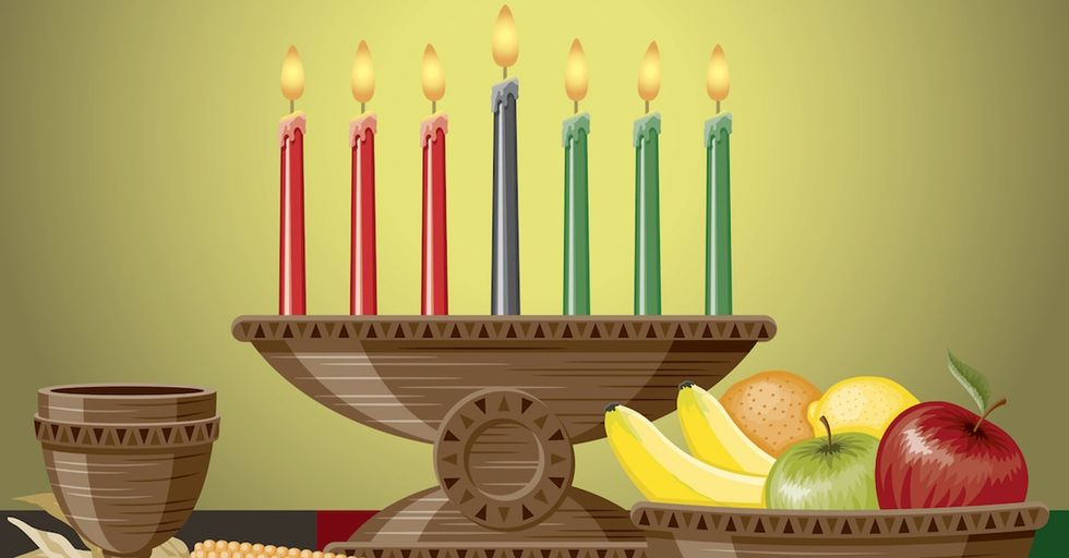 My parents decided I needed a lesson in Kwanzaa. Now I'm sharing it with you.