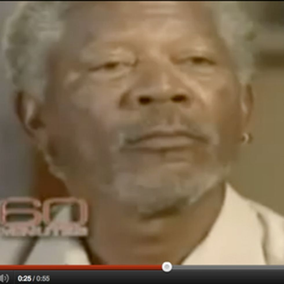 VIDEO: Why Morgan Freeman Hates Black History Month