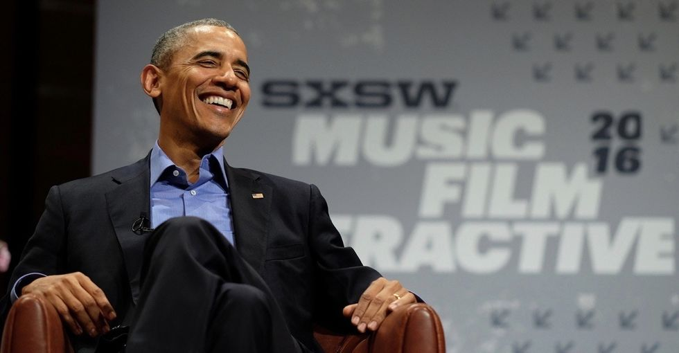 The most popular science paper of 2016 is from ... Obama? Yup. And it's about Obamacare.