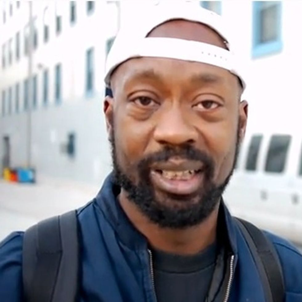 A Homeless Guy Explains Why He Needs A Cell Phone [VIDEO]