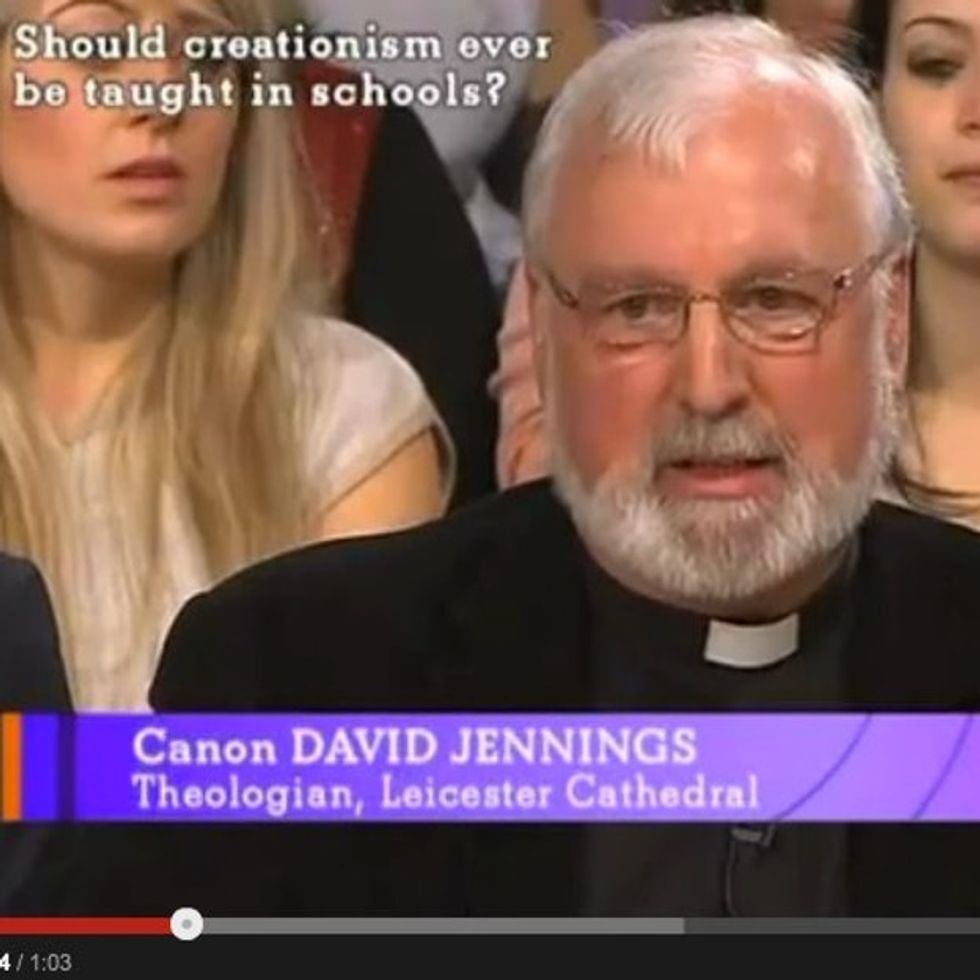 The One Where A Creationist Picks A Fight And Loses To A Priest