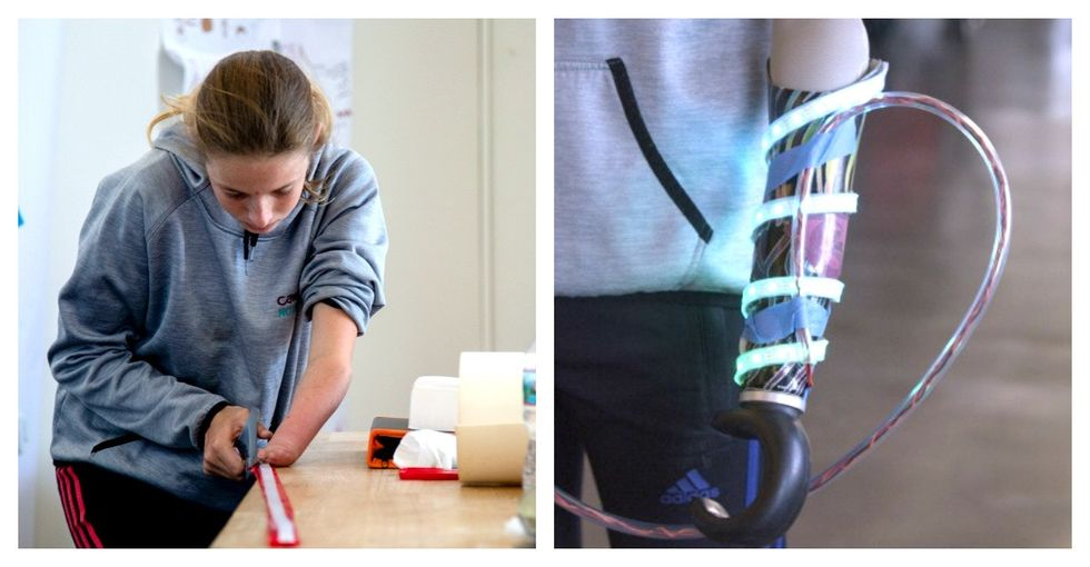 These kids are using technology to turn their prosthetics into a superhero's dream.