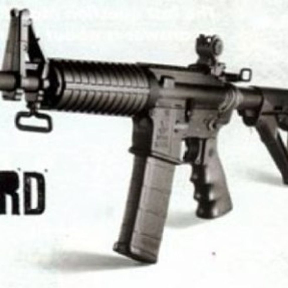 This Is A Real Ad. For A Real Gun. That Killed Real People.