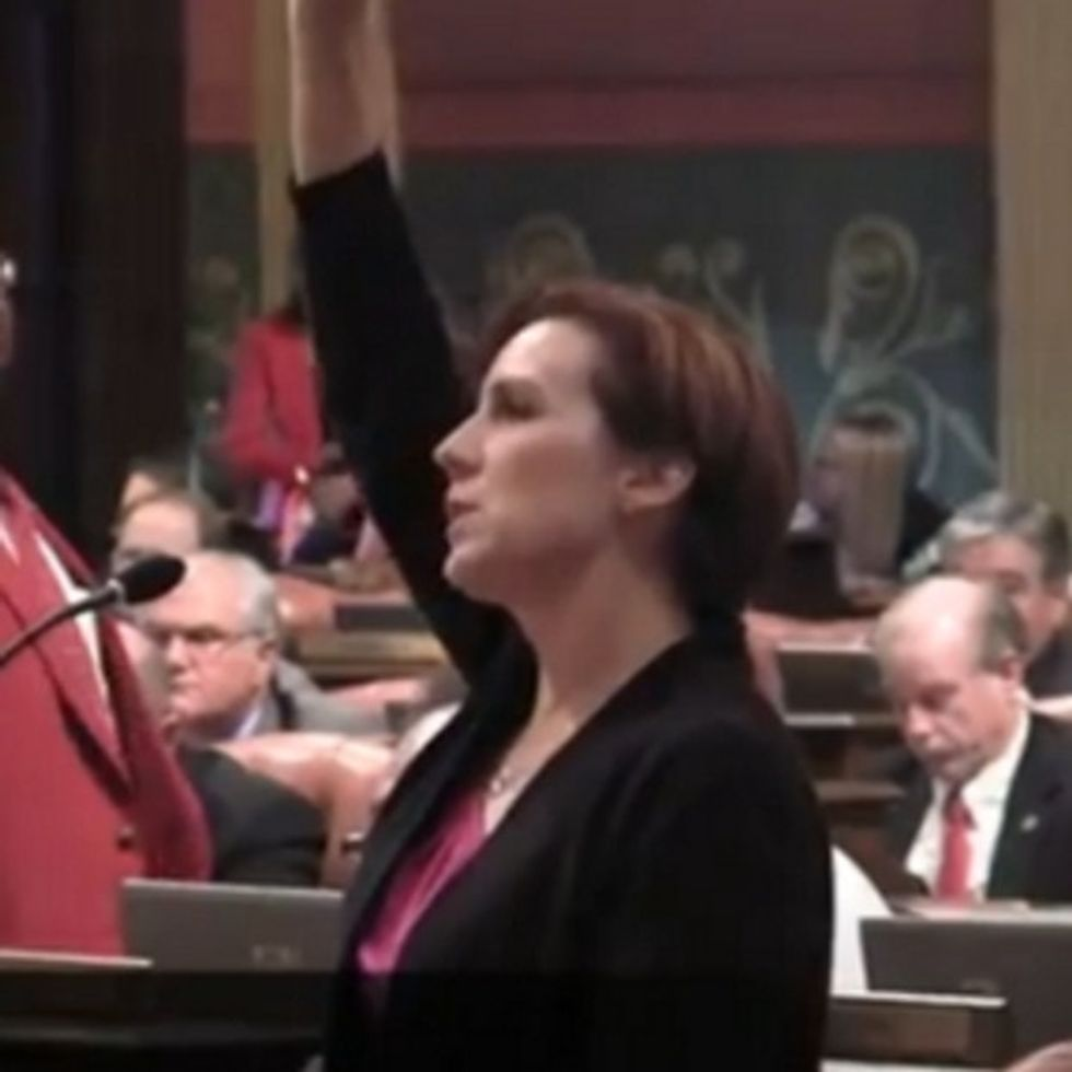 State House Of Representatives To Female Legislator: Shut Up About Your Vagina