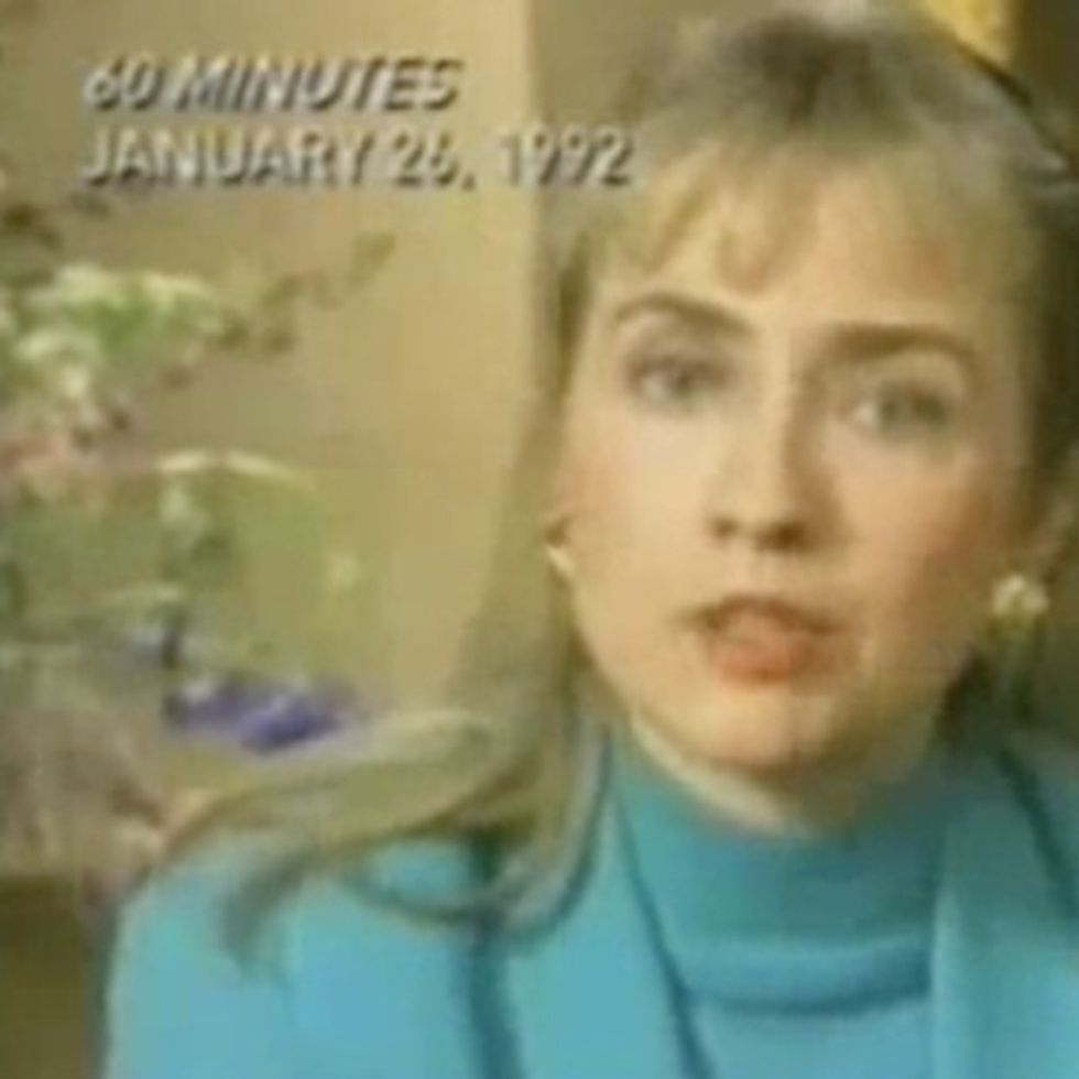 Remember When Hillary Clinton Didn't Want To Stay Home And Bake Cookies?