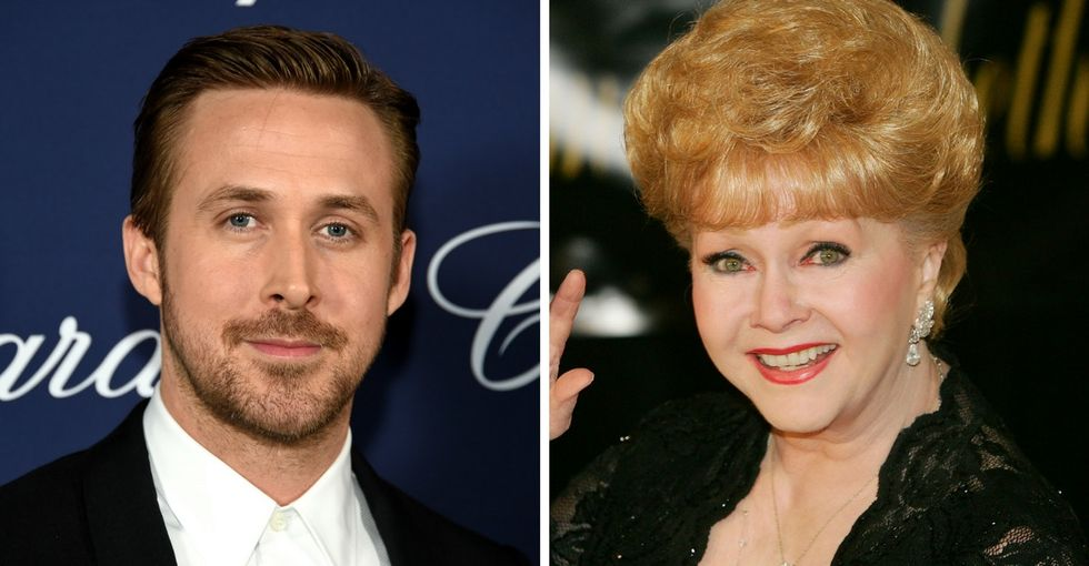 Ryan Gosling gives Debbie Reynolds the thank-you he never got to give in person.