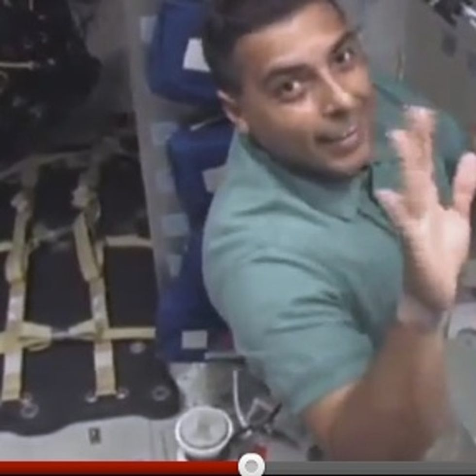 Do Not Taunt The Astronaut Politician. He Will Make You Look Stupid. From SPACE.