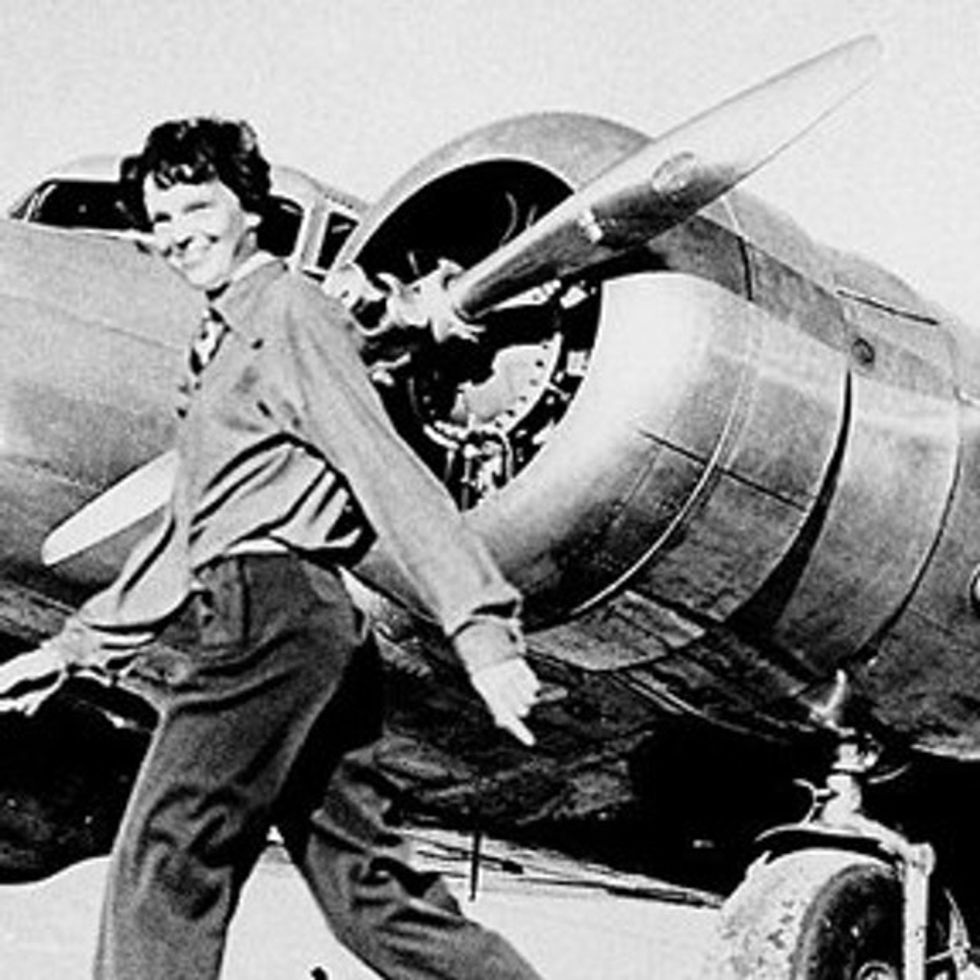 Amelia Earhart Wasn't Scared To Cross The Atlantic In A Rickety Plane, But She Was Afraid Of This