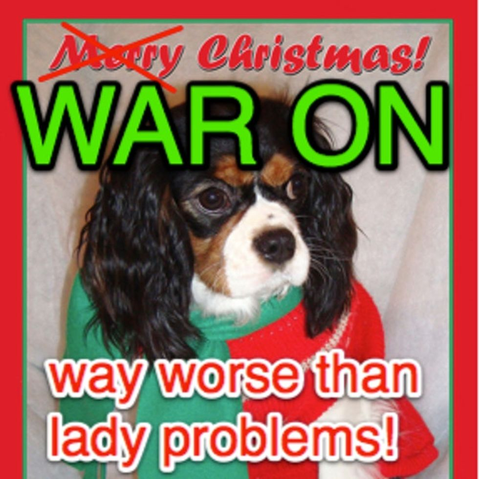 If Only Women Wore Christmas Lights, They Could Be Victims Too.