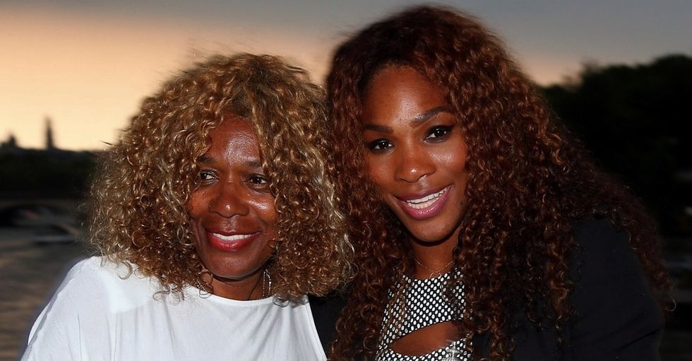 New mom Serena Williams shares gratitude for her own mother in a heartfelt letter.