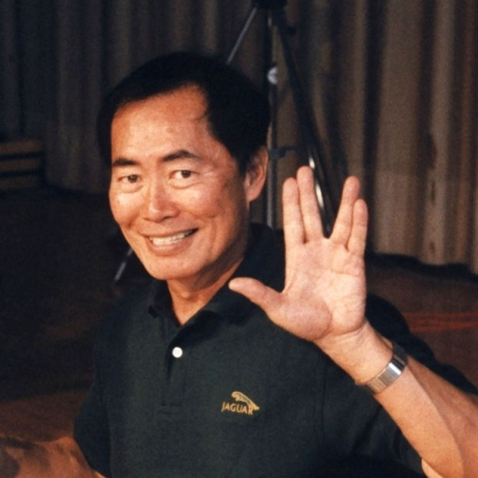 Set Your Phasers To Stunning! George Takei Kicks Equality Ass Again