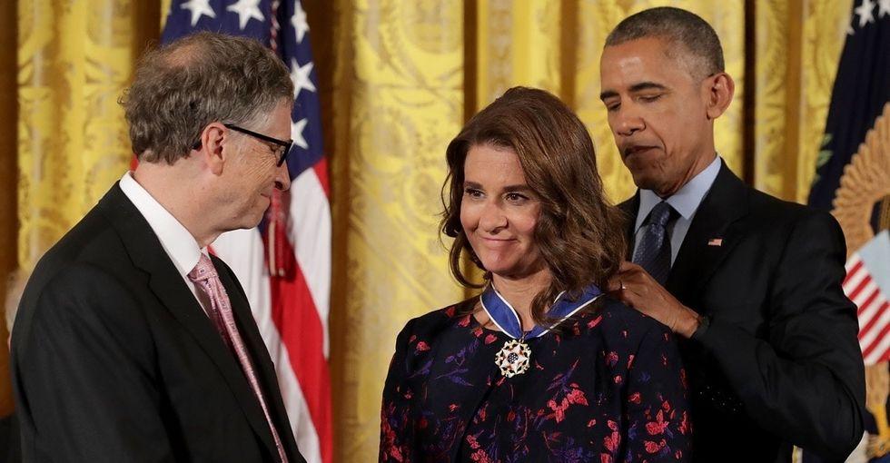How Melinda Gates' own history helped shape the billionaire's philanthropy.