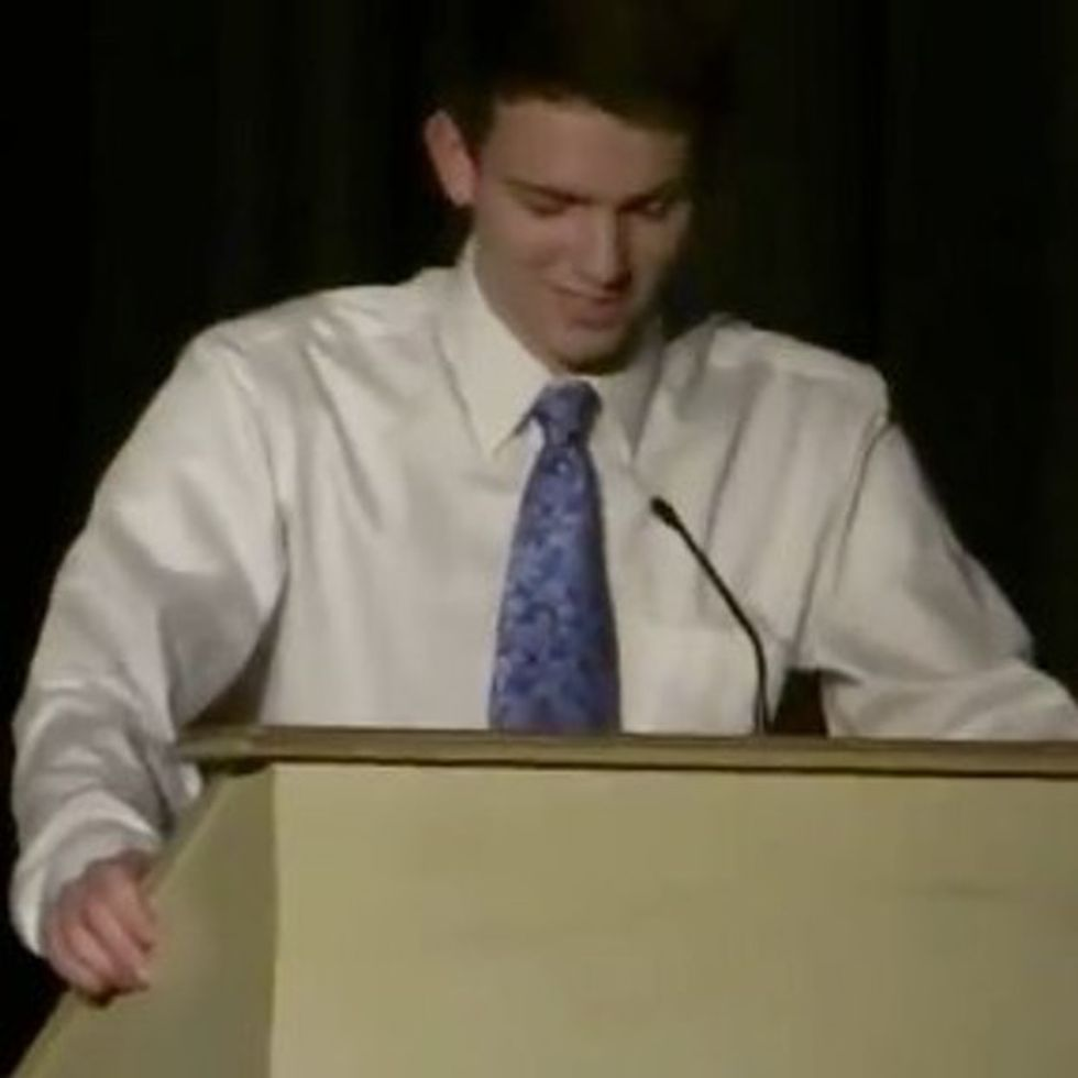 The Oscar For Bravest Award Acceptance Speech Goes To This Gay High School Kid