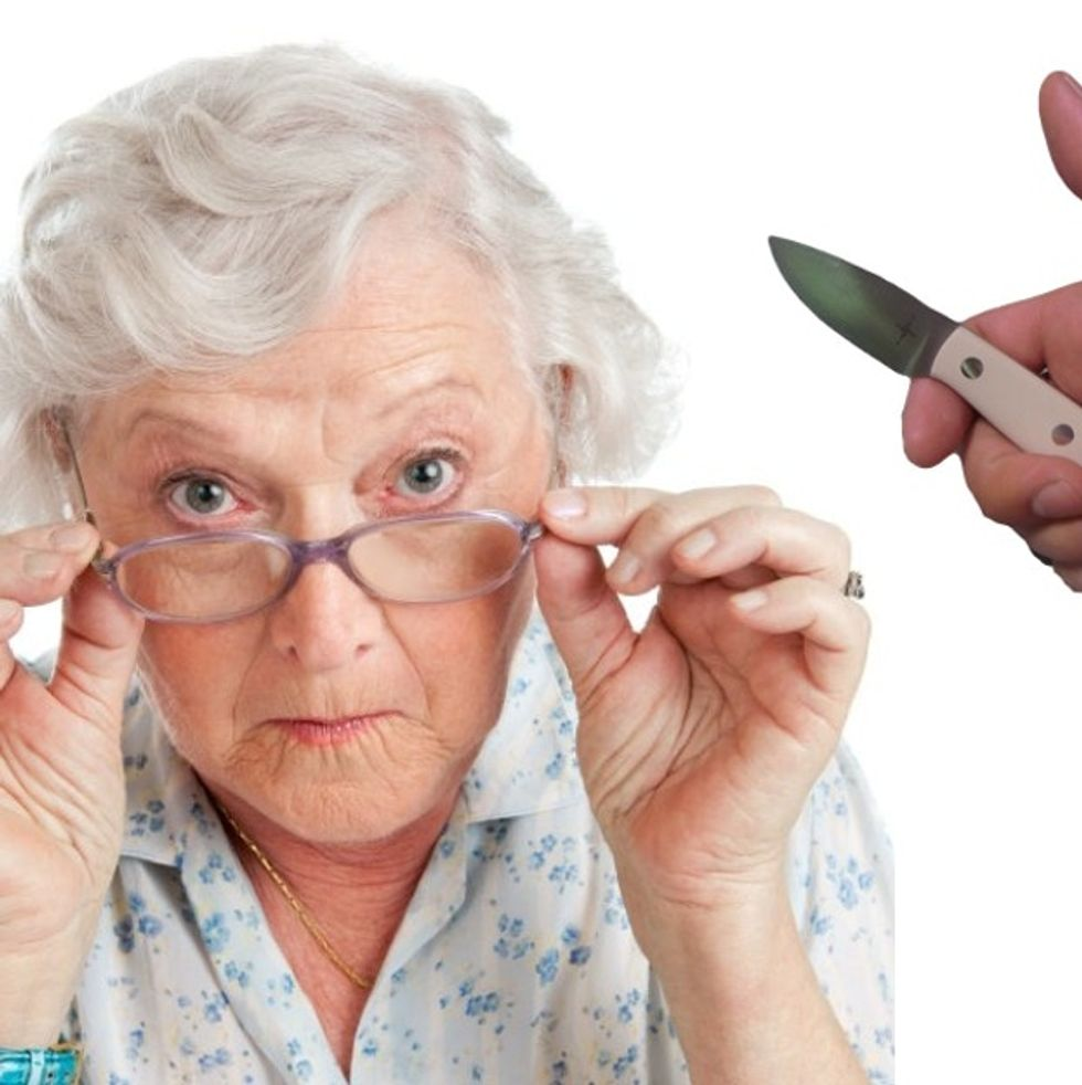 You Will Not Believe What The Government Is Planning To Do To Your Poor, Gentle, Sweet, Old Grandma