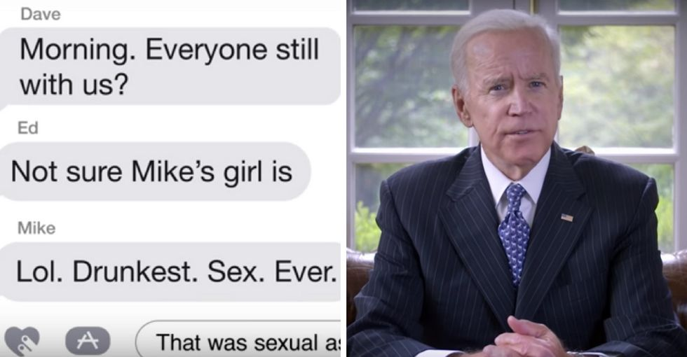 This guy's disturbing group chat shows how easy it is for men to dismiss rape.