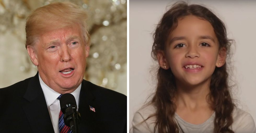 Jimmy Kimmel asked a 2nd grader to explain trade to Trump. She didn't disappoint.