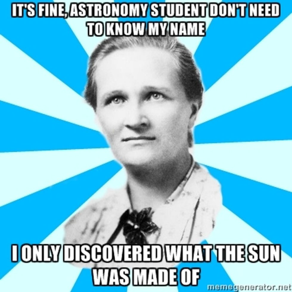 Name Five Famous Scientists. How Many On Your List Were Women?