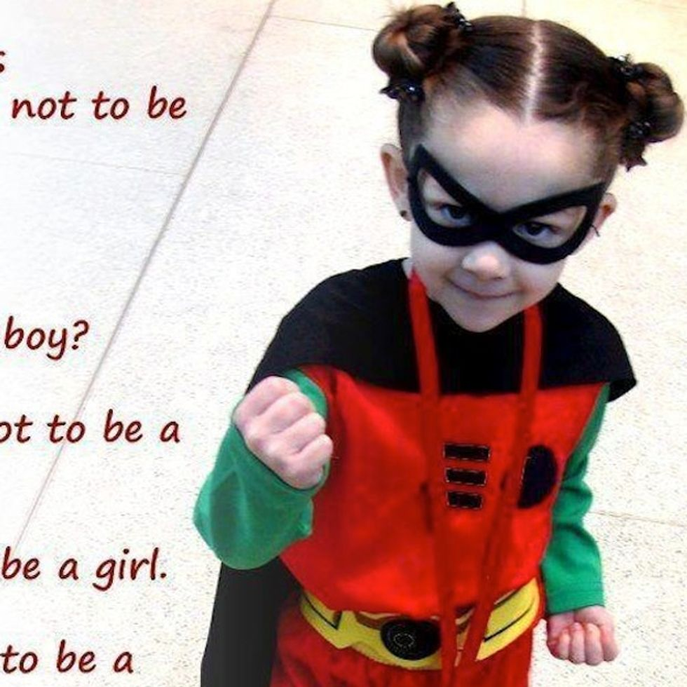 What Does It Mean To NOT Be A Girl? Everything, apparently.