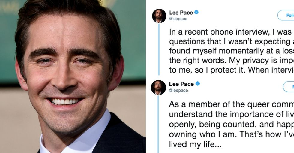 Lee Pace responded to the backlash over his sexuality. Was he in the wrong?