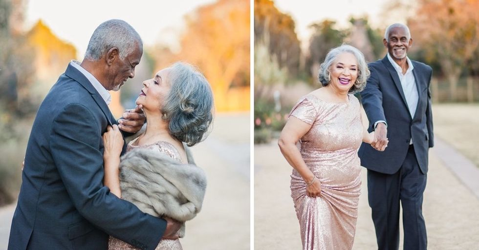 A wedding photographer captured her parents' love in this incredible viral photo shoot.