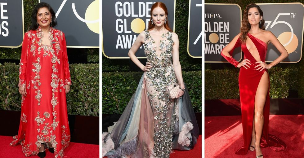 Criticizing women who didn't wear black to the Golden Globes is part of the problem.