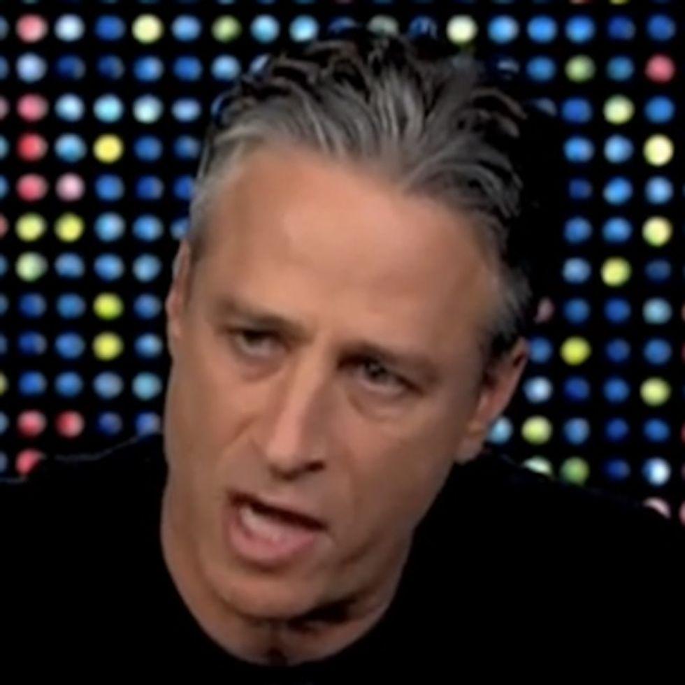 Jon Stewart bashes CNN for 9 minutes. Live. On CNN.