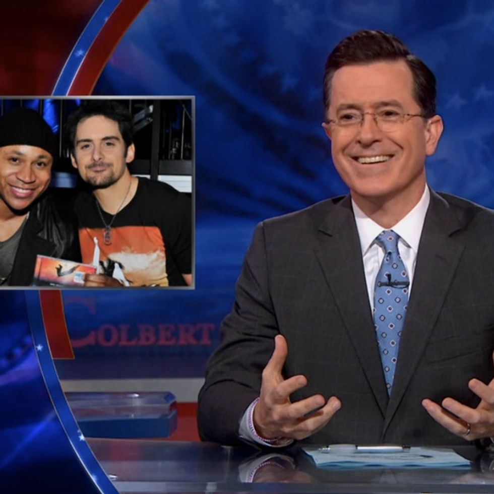 Stephen Colbert Wins Late Night Television With His Hilarious Critique Of Brad Paisley's Racist Song