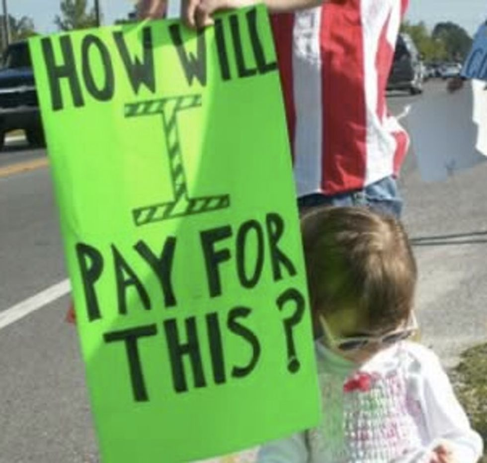 ADORABLE: Baby's First Protest