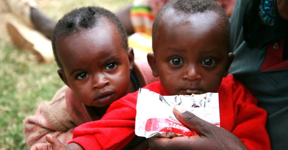 This basic food could fight pediatric pneumonia and malnutrition at the same time.