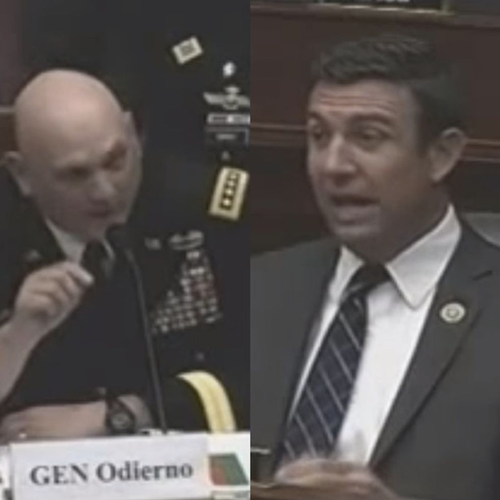 A Congressman Decided To Insult A 4-Star General And Then Tried To Walk Out. HAHAHA.