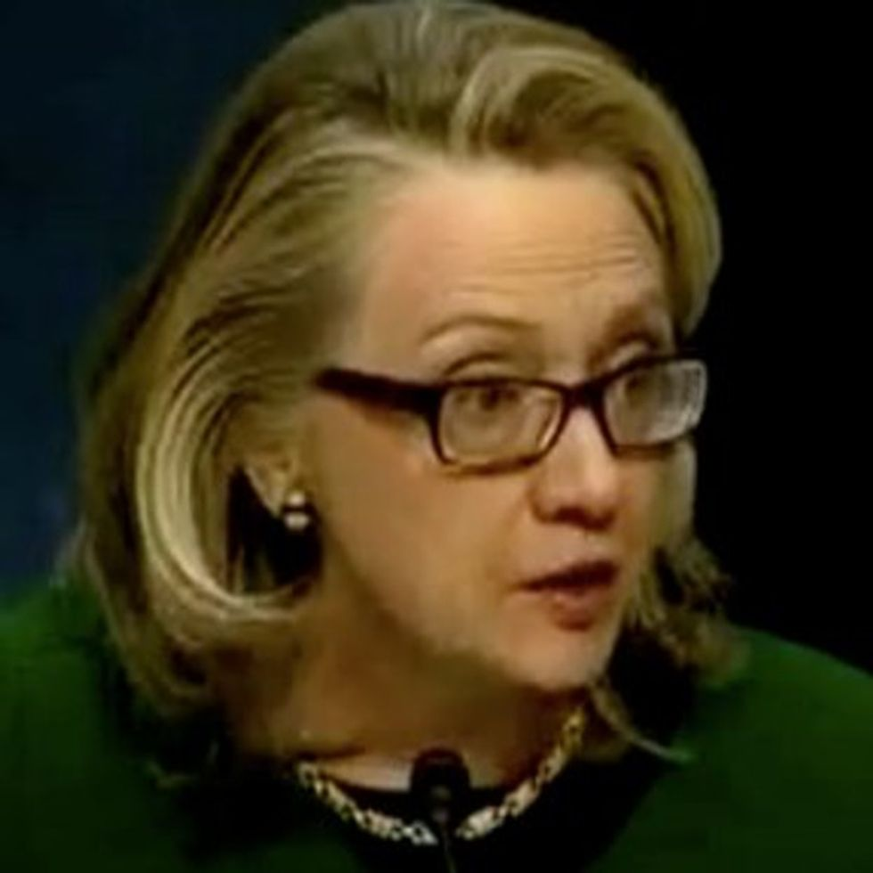 Hillary Clinton Eviscerates Tea Party Senator For Missing The Point Of The Benghazi Hearings