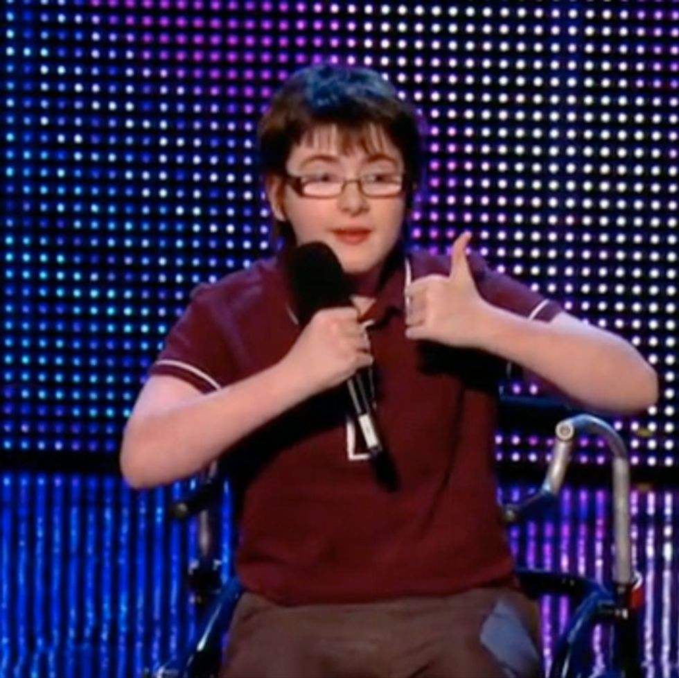 You're About To Laugh At A Boy Who Has Cerebral Palsy, And That's Okay