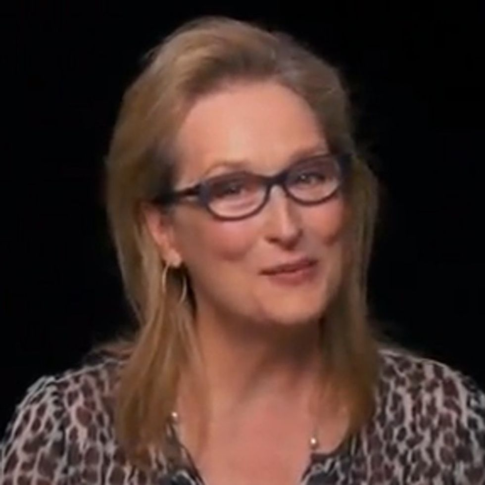 Meryl Streep Says, 'It's Time To Draw The Line'