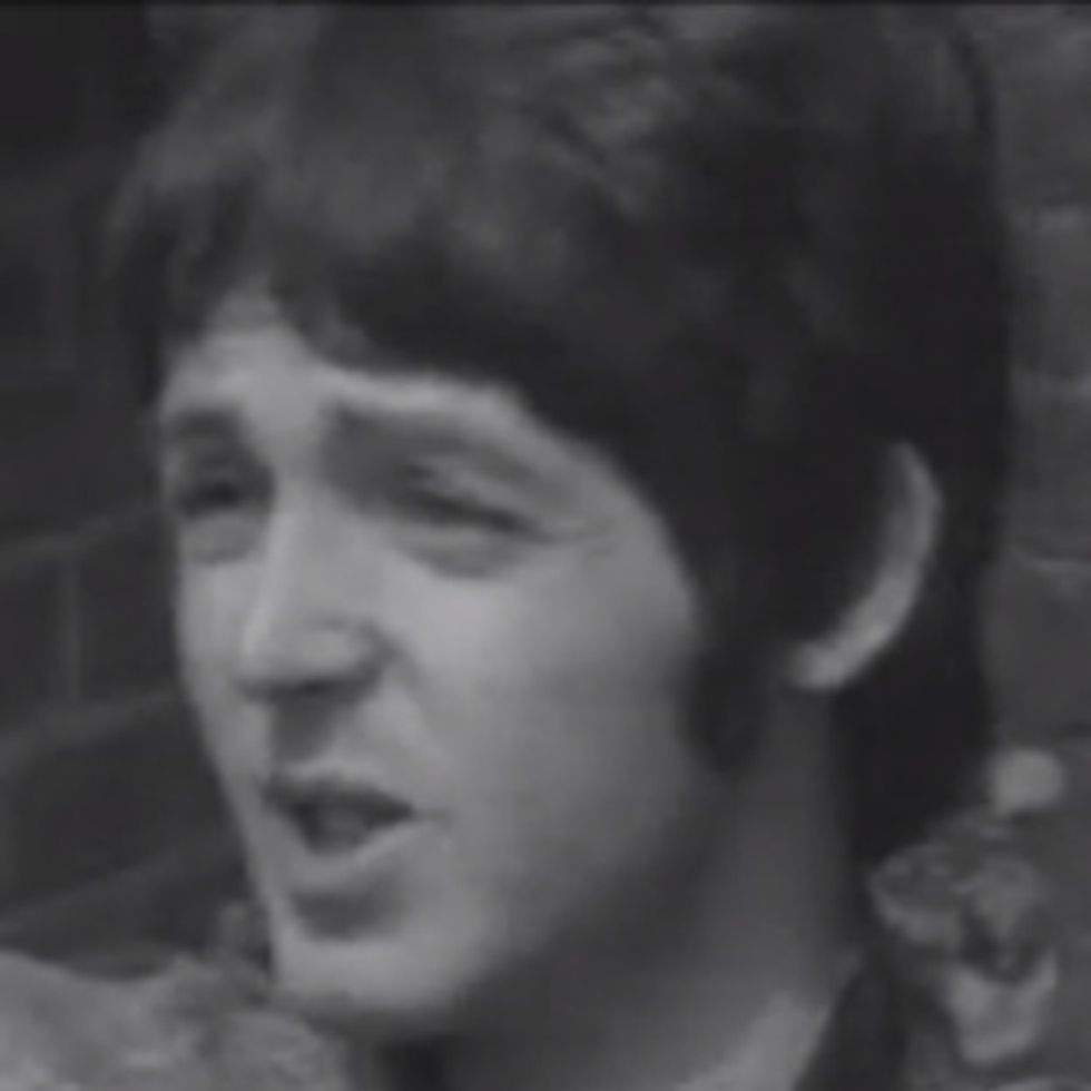 Paul McCartney On Acid Reminds Me Of Justin Bieber