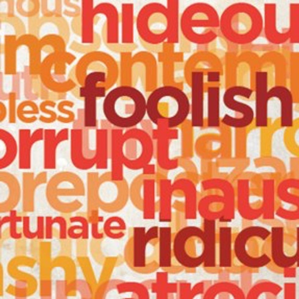 100 Insults You Should Use Instead Of These Two