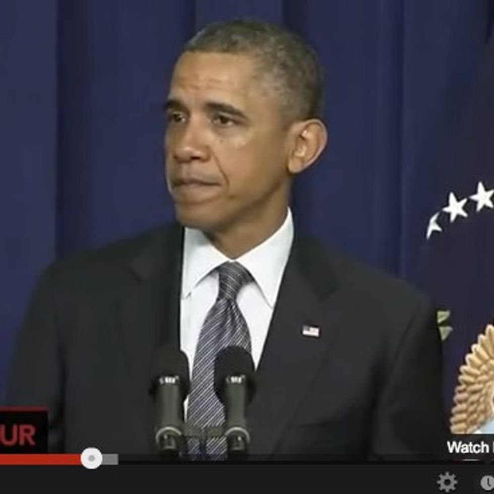 BREAKING: Obama Starts Having The Grownup Conversation About Guns That The NRA Doesn't Want To Have