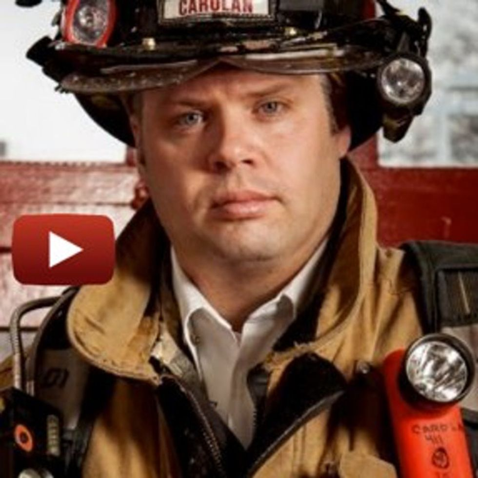 This Firefighter Guy Decided Saving People From Fires Wasn't Enough, So He Became A Friggin' Inventor!