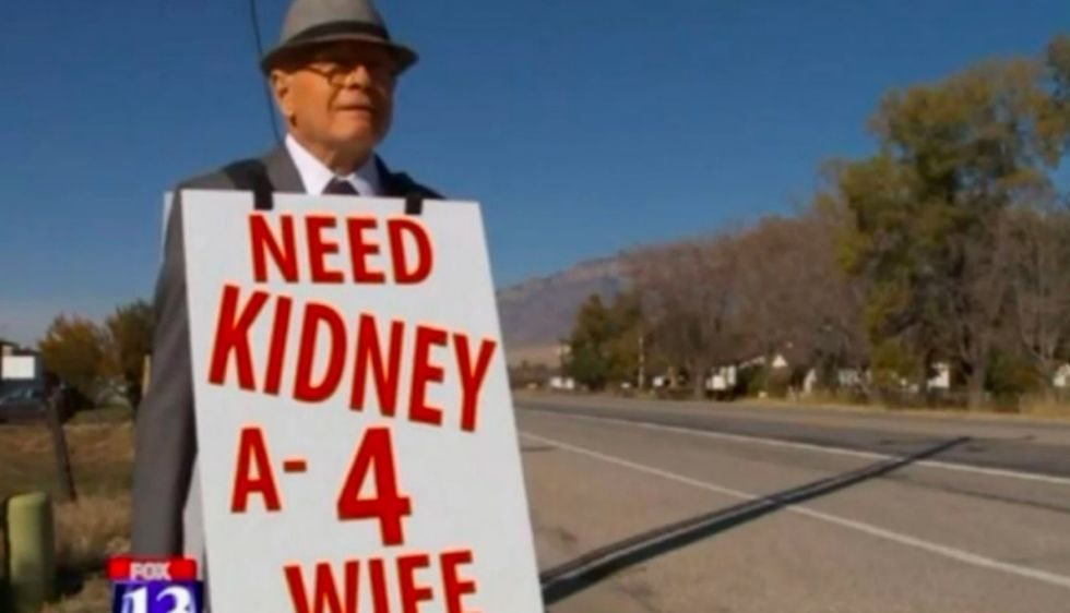 His quest for an organ donor went viral. Now, he wants to start a 'kidney revolution.'