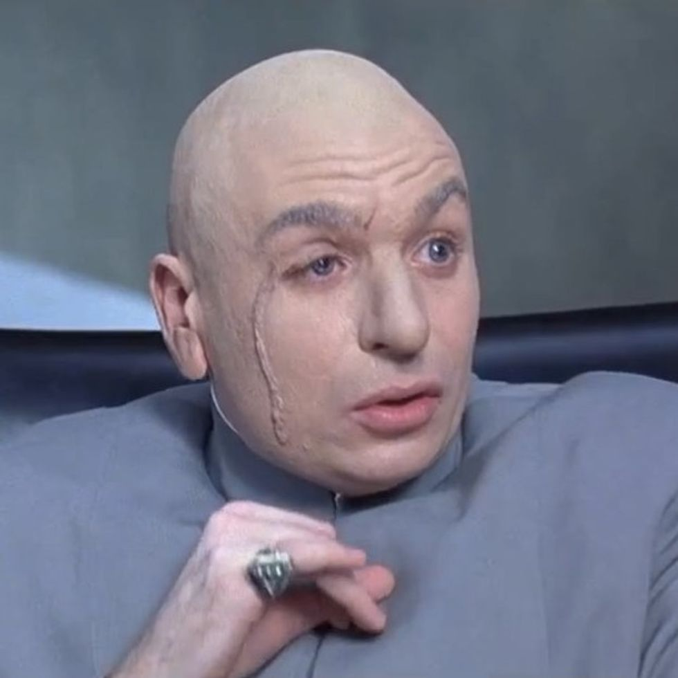 An Awful Corporation Does Something So Cartoonishly Creepy That We Have To Make A Dr. Evil Reference