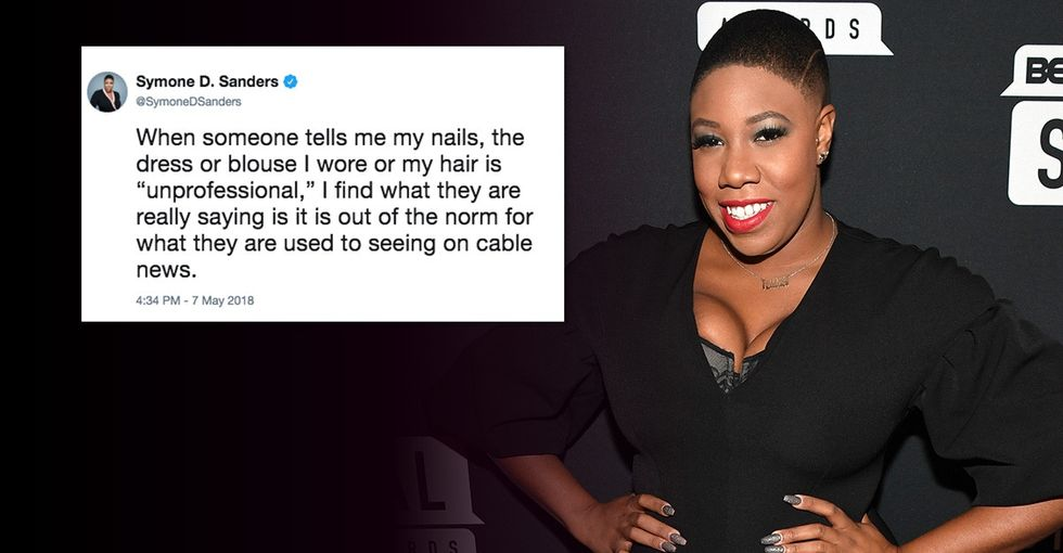 CNN's Symone Sanders wants you to re-think what 'professional' looks like.